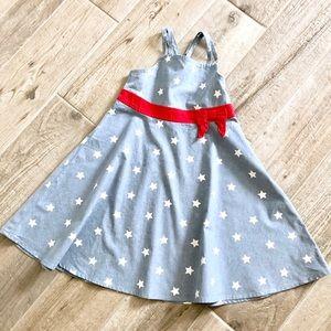 GYMBOREE | Chambray Star Print Dress